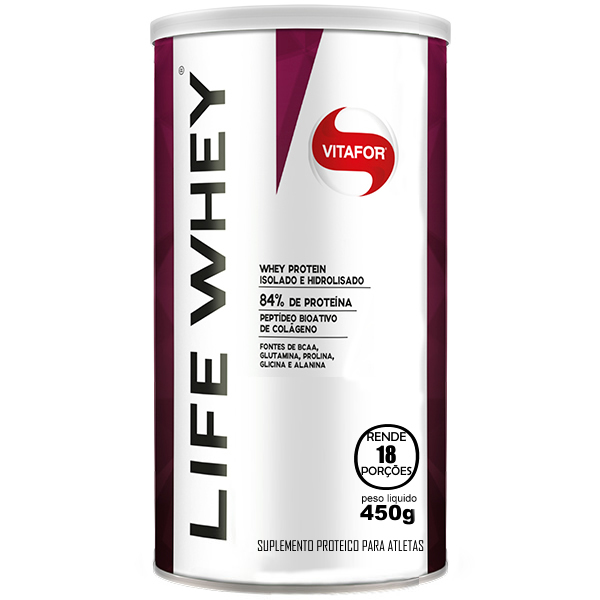 Life Whey 450 g - Vitafor