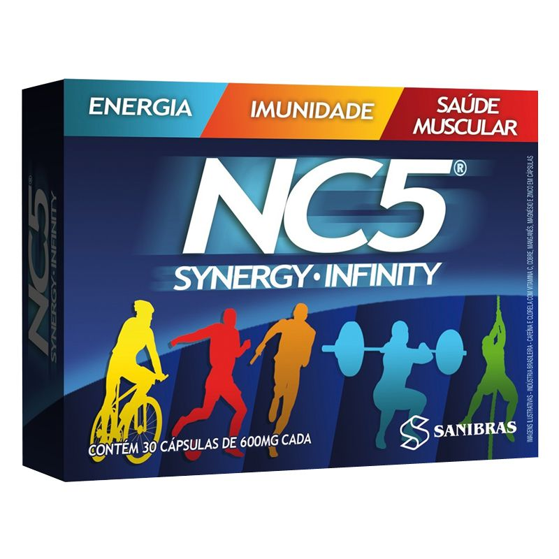 NC5 - 600mg - 30 Cápsulas - Power Supplements