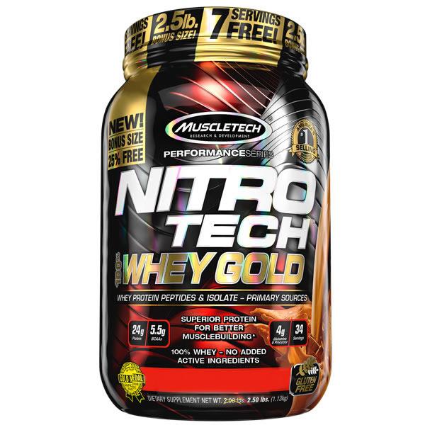 Nitro Tech Whey Gold1 Kg - Muscletech