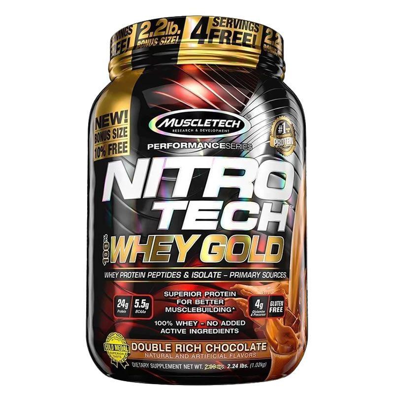 Nitro Tech Whey Gold1kg - Muscletech