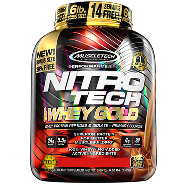 Nitro Tech Whey Gold2.5Kg- Muscletech