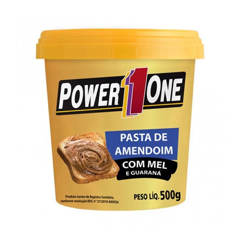 Pasta de Amendoim 500 g - Power One