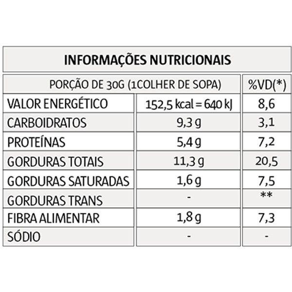Pasta de Amendoim - Mel - 1 kg - Vitapower