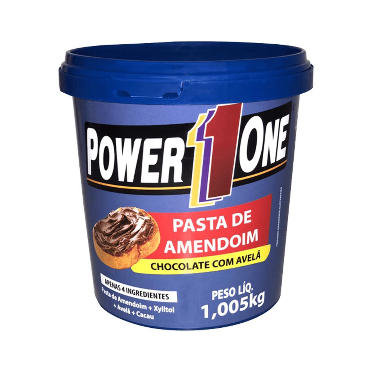 Pasta de Amendoim Saborizada - 1Kg - Power One