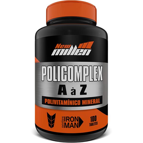 Poli Complex 100 Cápsulas - New Millen