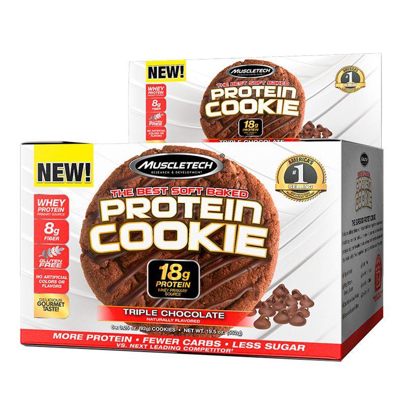 Protein Cookie - 6 Unidades de 92g - Muscletech