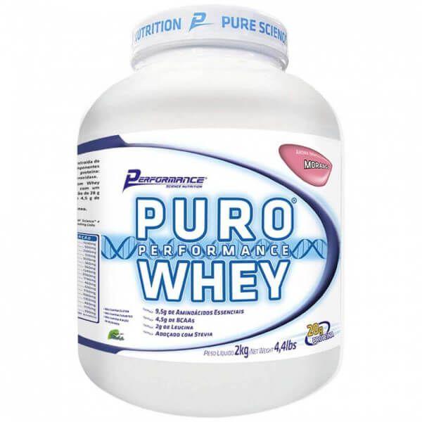 Puro Whey - 2kg - Performance Nutrition