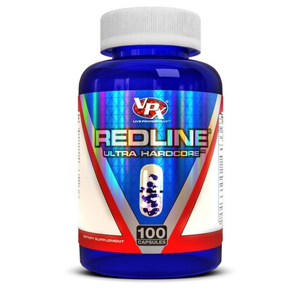 Red Line Hardcore 100 cápsulas - VPX