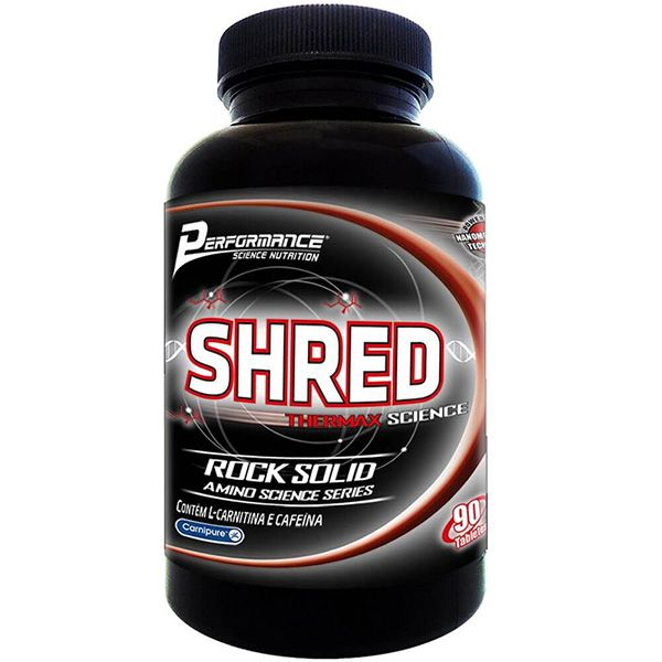 Shred Thermax 90 Tabletes - Performance Nutrition