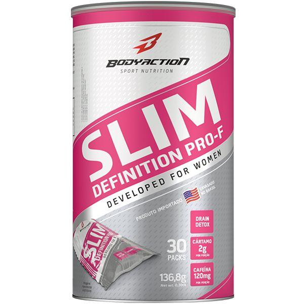 Slim Definition Pro-F 30 sachês - Body Action