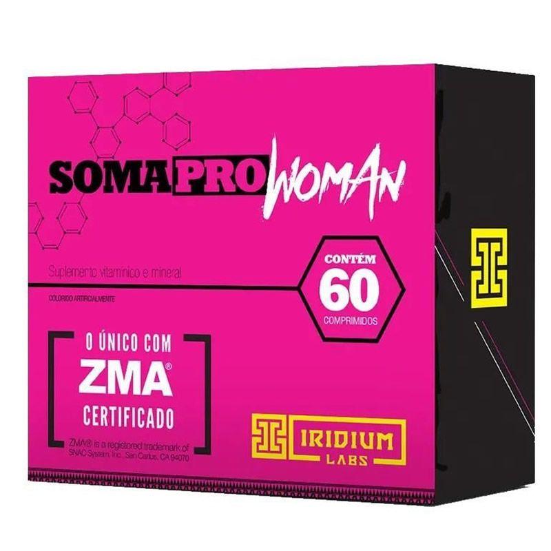 Soma Pro Woman 60 Cápsulas - Iridium Labs