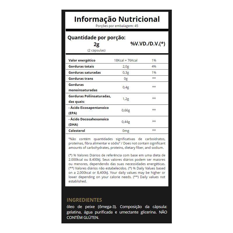 Super Omega 3 500mg - 240 Cápsulas - Essential Nutrition