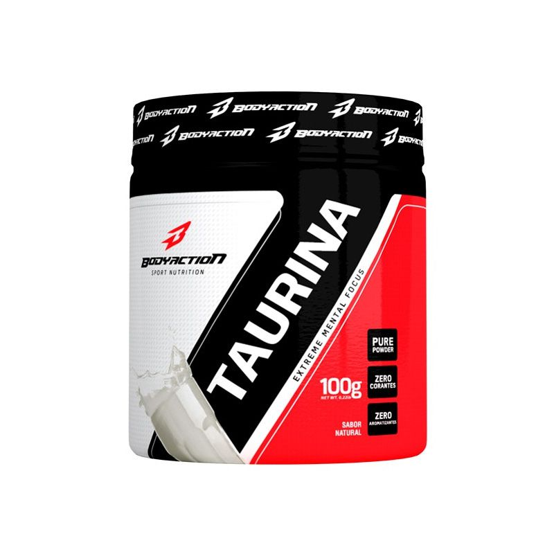 Taurina - 100g - Body Action