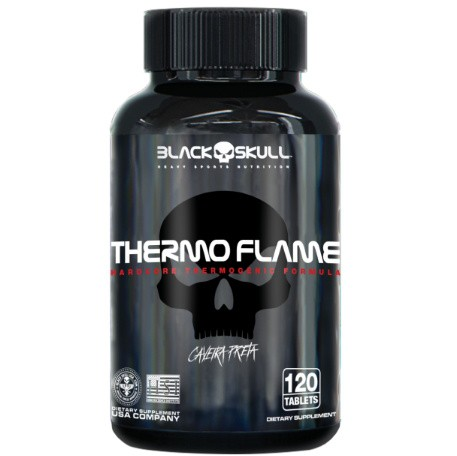 Thermo Flame 120 Tabs - Black Skull