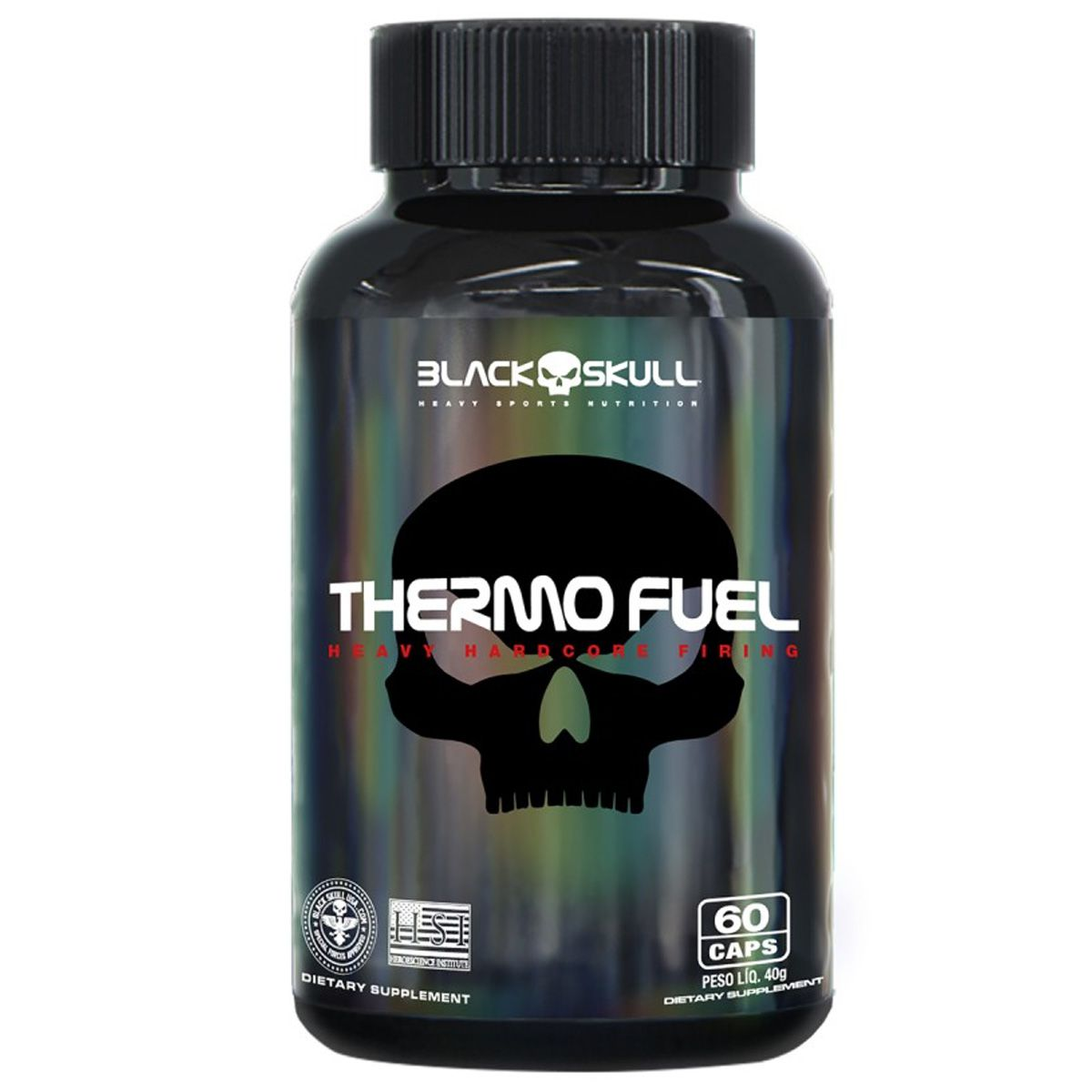 Thermo Fuel - 60 Cápsulas - Black Skull