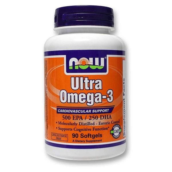 Ultra Omega-3 90 cápsulas - Now