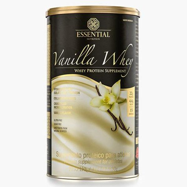 Vanilla Whey - 450 g - Essential Nutrition