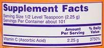 Vitamina C Crystals 227 g - Now