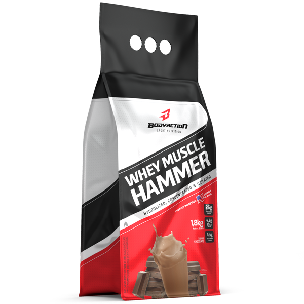 Whey Muscle Hammer 1,8 Kg - Body Action