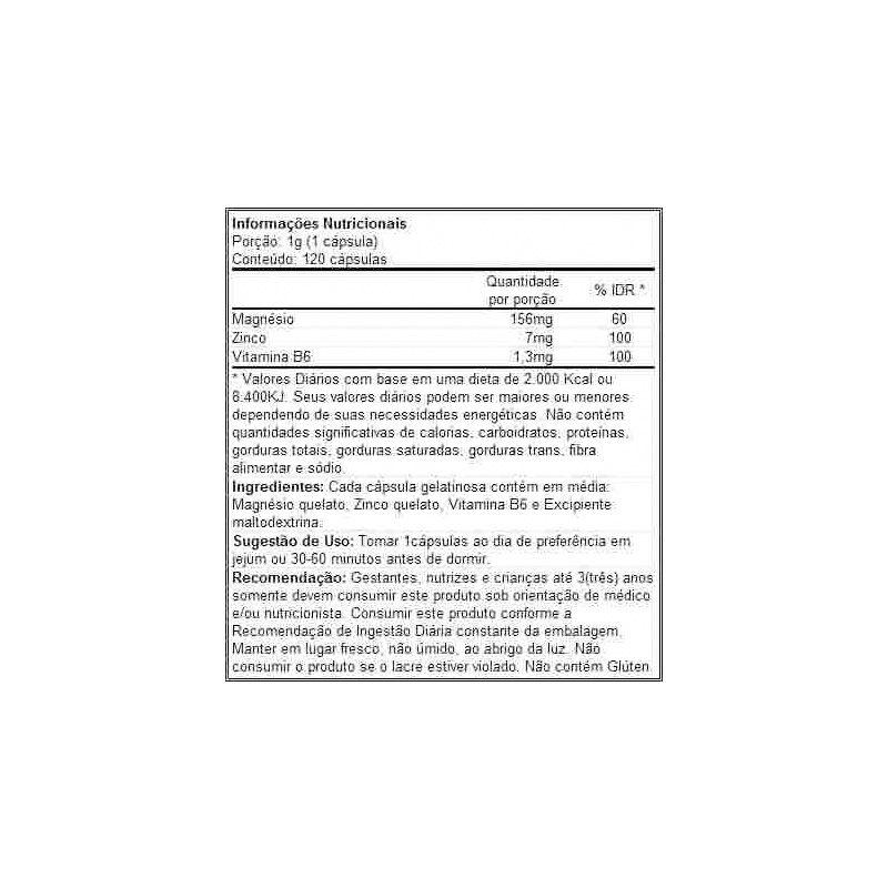 ZMA GH TESTO (60 cápsulas) - Body Action