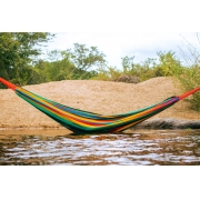 Rede de Dormir Nylon Amazonas Colorida impermeável