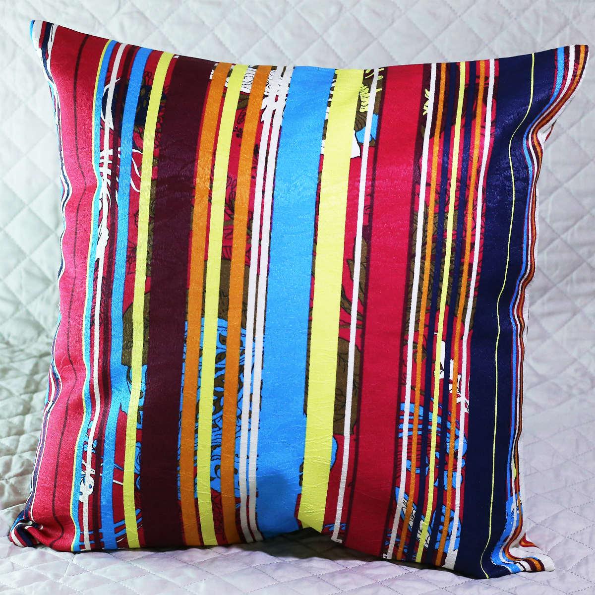 Almofada colorida com Enchimento