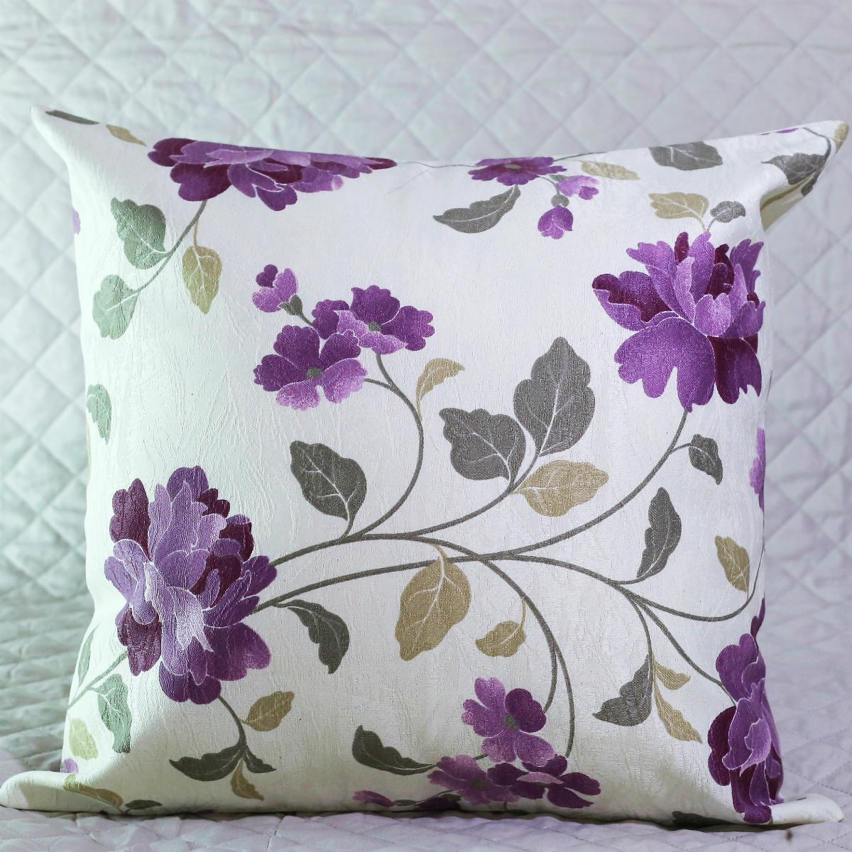 Almofada florida com Enchimento