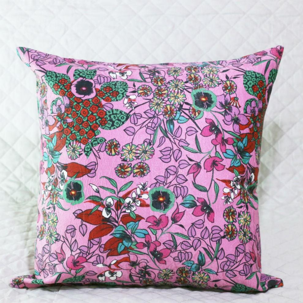 Almofada  Oriental Pink com Enchimento