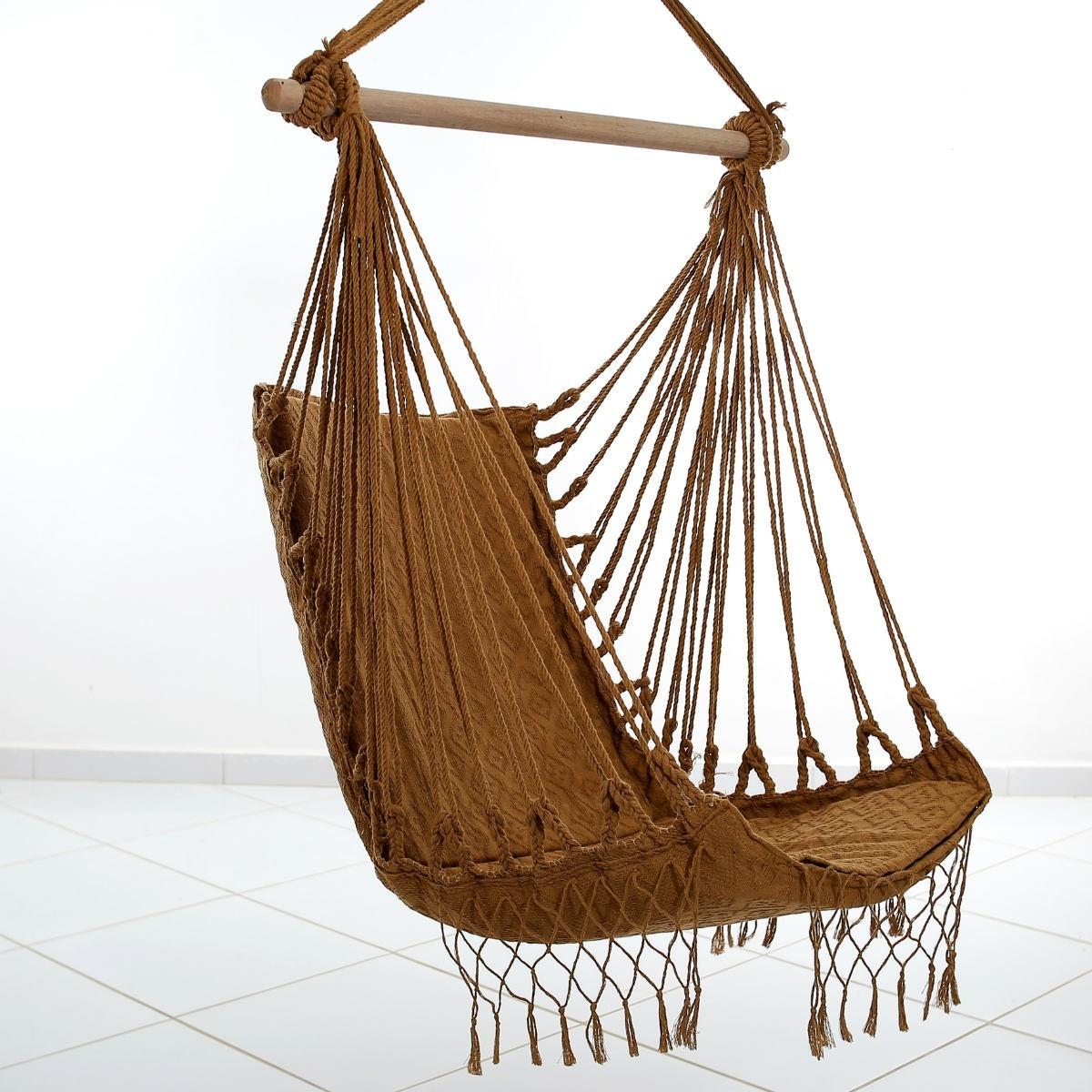 Rede Cadeira Balanço Caramelo