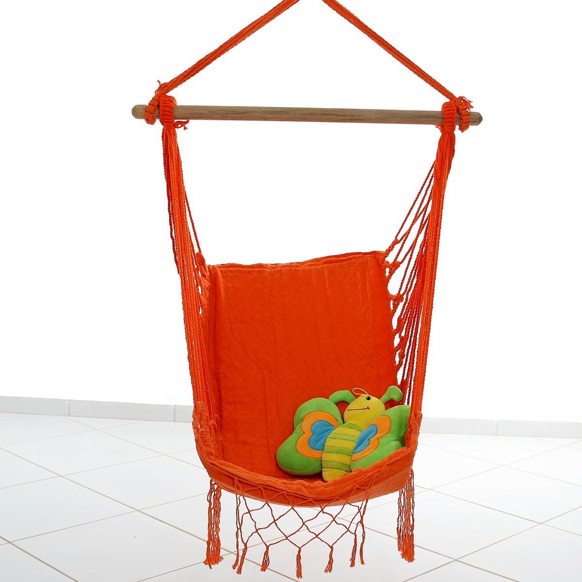 Rede Cadeira Balanço Laranja