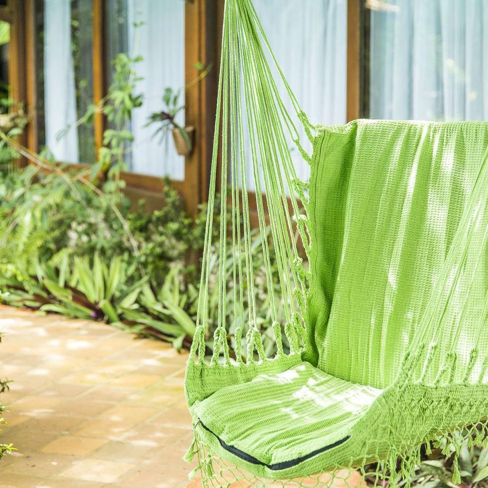 Rede Cadeira Balanço Verde