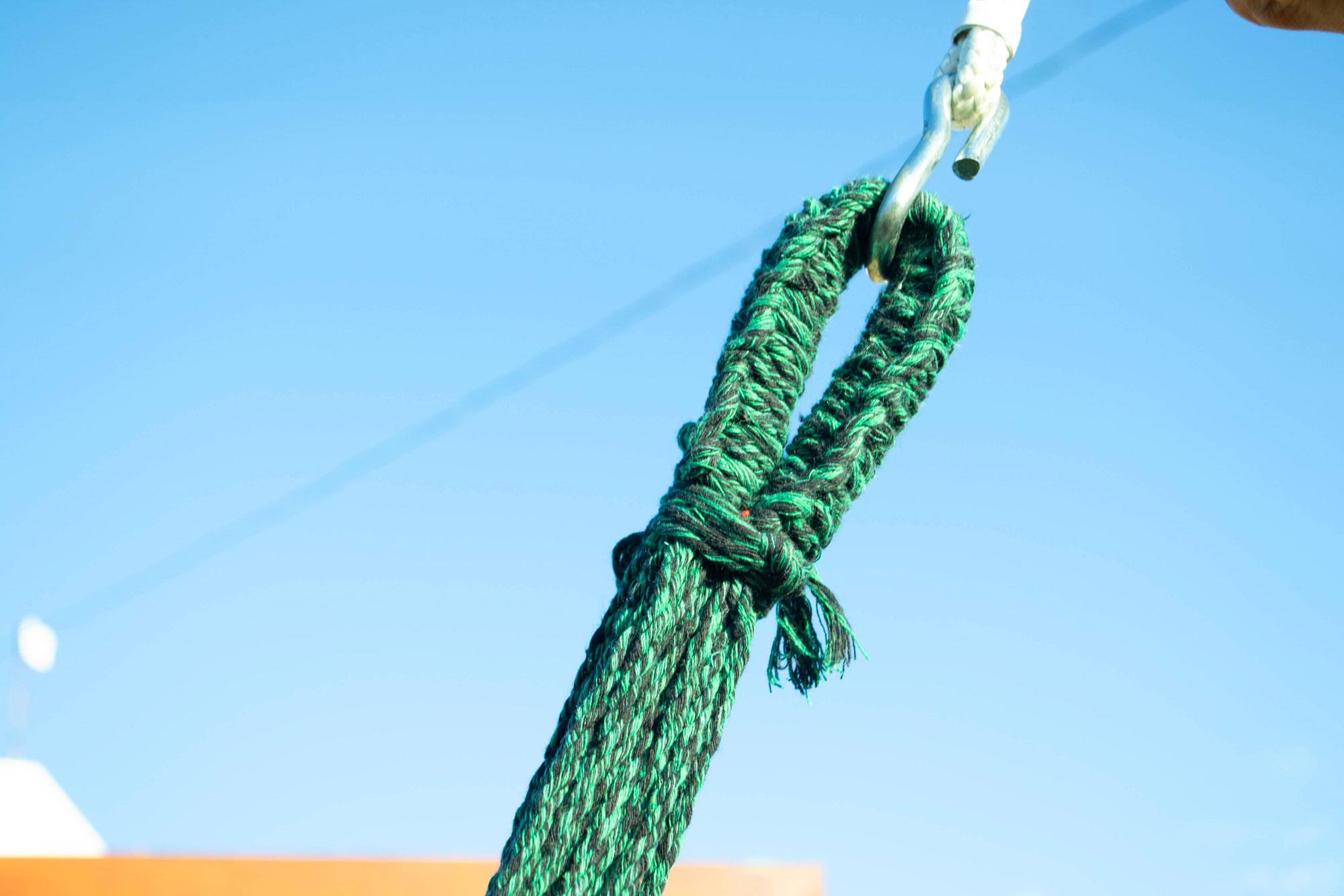 Rede de Dormir Pernambucana Algodão Verde