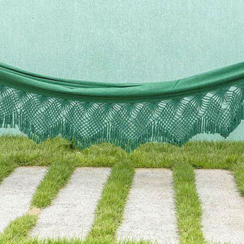 Rede de Dormir Jeans Verde