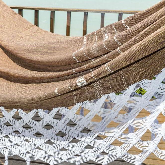 Rede de Dormir Luxo Laranja