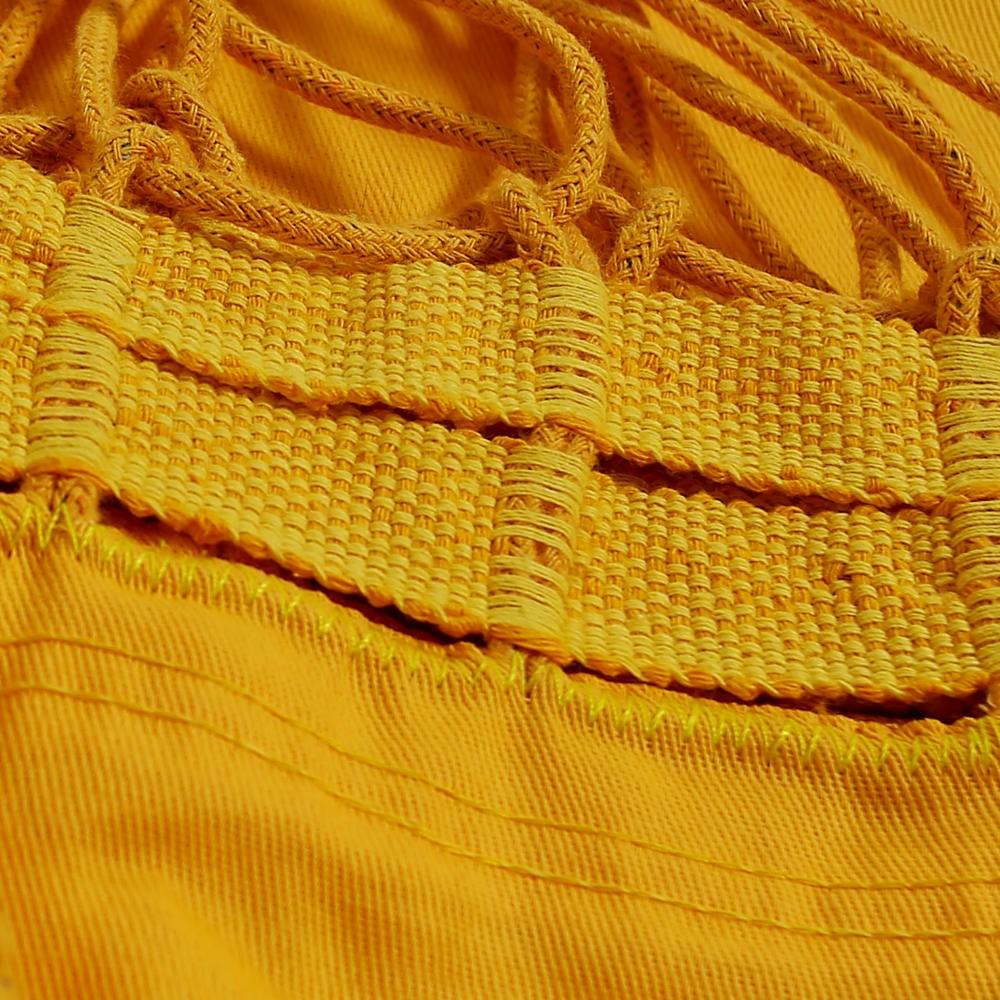 Rede de Dormir Sol a Sol Amarela