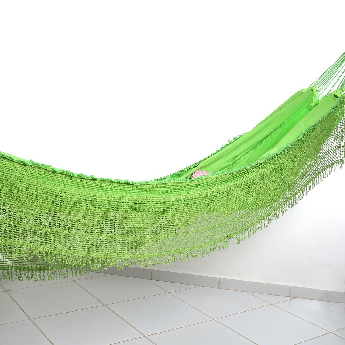 Rede de Dormir Sol a Sol Verde