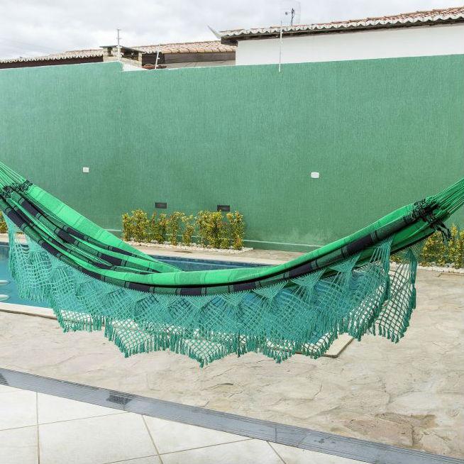 Rede de Dormir Tieta Verde