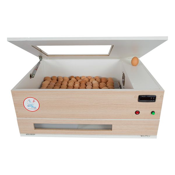 Chocadeira ALTA ECLOSÃO AUTOMÁTICA Elétrica Bivolt PID 120 ovos BOX (GCB120)