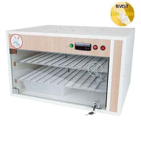 Chocadeira ALTA ECLOSÃO Automática Bivolt PID 220 ovos com 7 ventiladores (GC220PID)