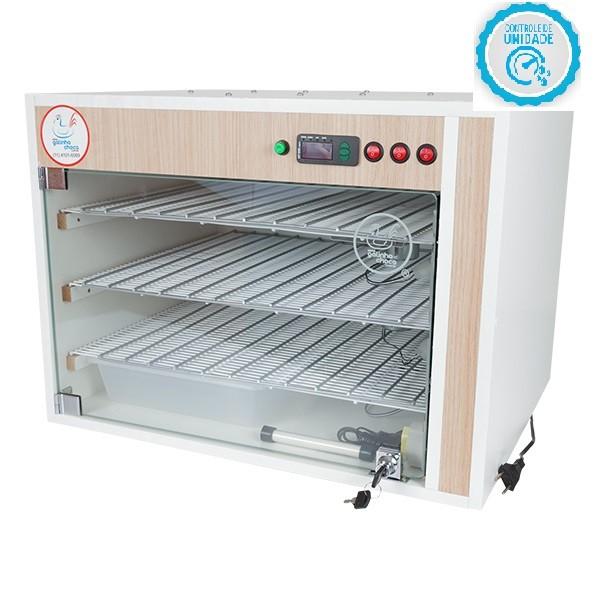 Chocadeira ALTA ECLOSÃO Automática Bivolt 330 ovos com 7 ventiladores e controle de Umidade (GC330U)