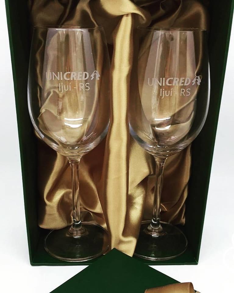 Conjunto de 2 taças de cristal para vinho 350ml (BC56112DP)