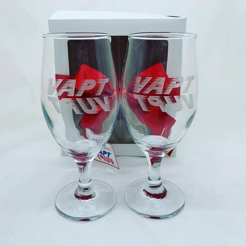 Conjunto de 2 taças de vidro p/ cerveja (BC2.7728DH)