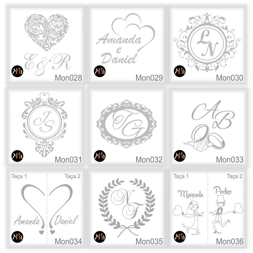 Kit casamento - Taças DE CRISTAL para espumante e espátula personalizadas