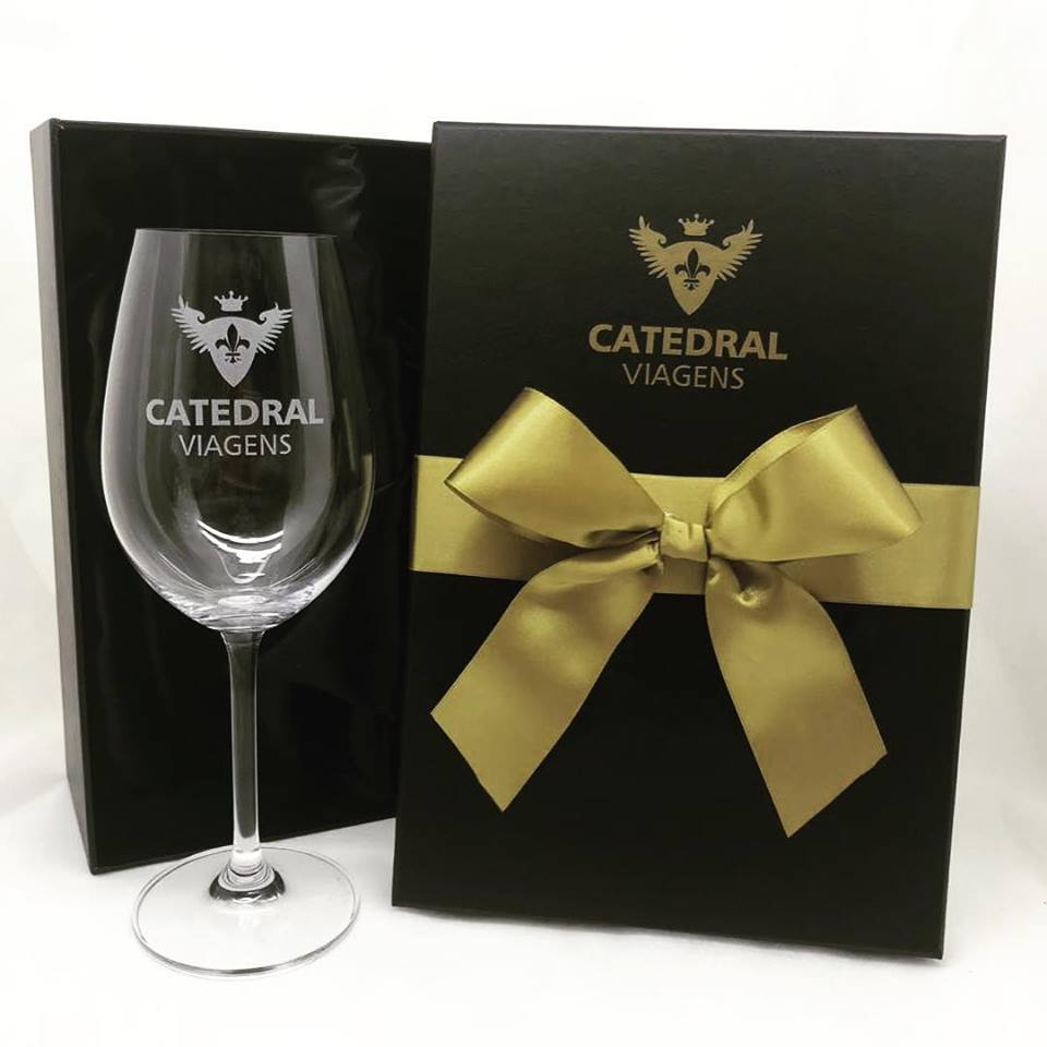 Kit taça de cristal para vinho 350ml (BC2.56112DP)