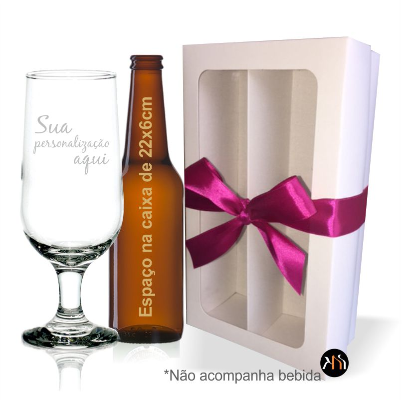 Kit Taça de vidro p/ cerveja Personalizada (1.7732DH)