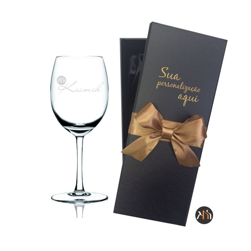Taça cristal p/ vinho 580ml personalizada (1.56077P)