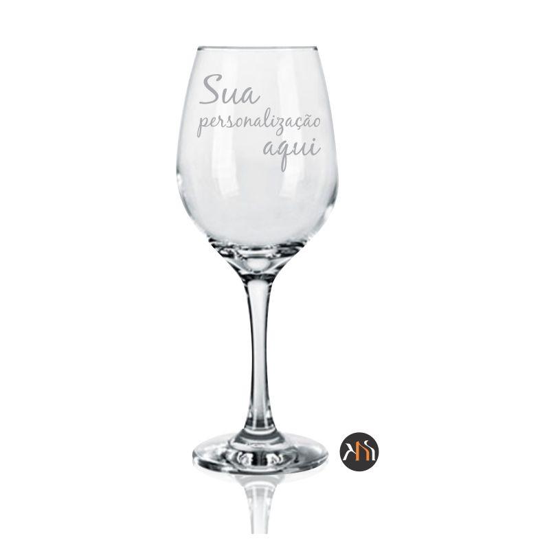 Taça de vidro p/ vinho 385ml