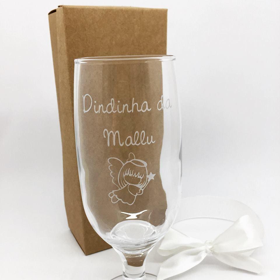 Taça de vidro para cerveja Batizado H
