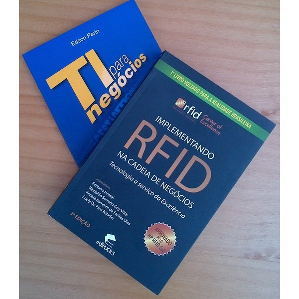 KIT RFID TIN Plus: Implementando RFID + TI para Negócios- De R$ 424,50 por R$ 275,00