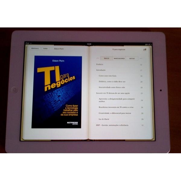E-Book TI para Negócios ? De R$ 16,00 por R$ 14,90